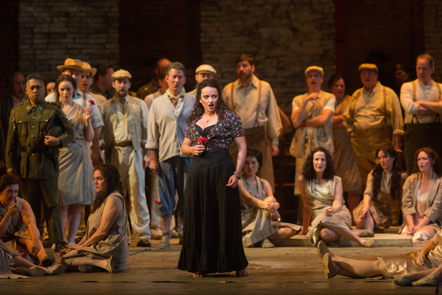 Carmen Ensemble Photo Marty Sohl Met Opera